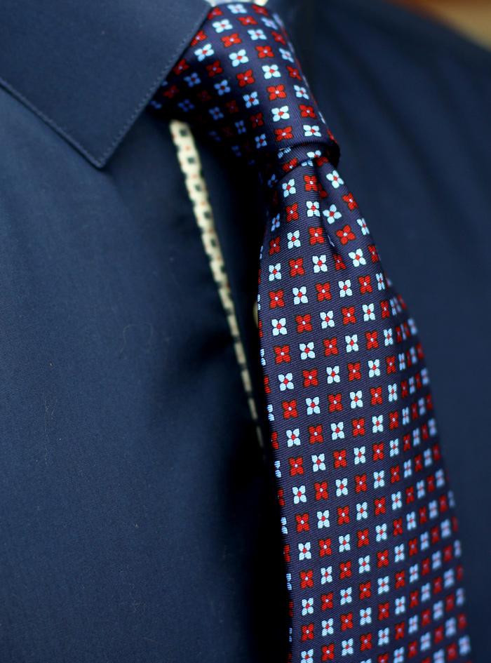 7655c43999a4 NEW Floral Foulard Silk Ties