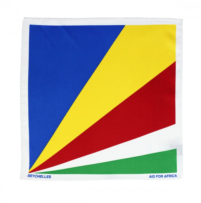 Seychelles Pocket Square