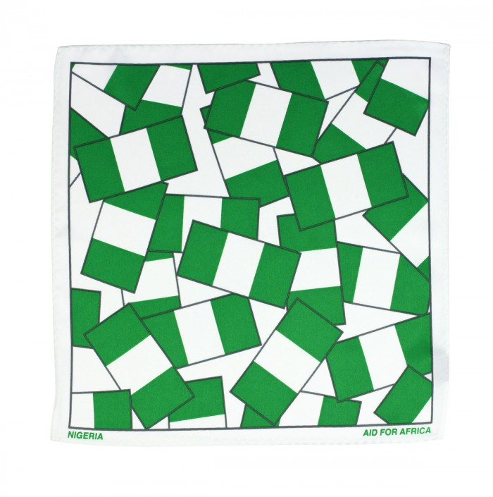 Nigeria Pocket Square