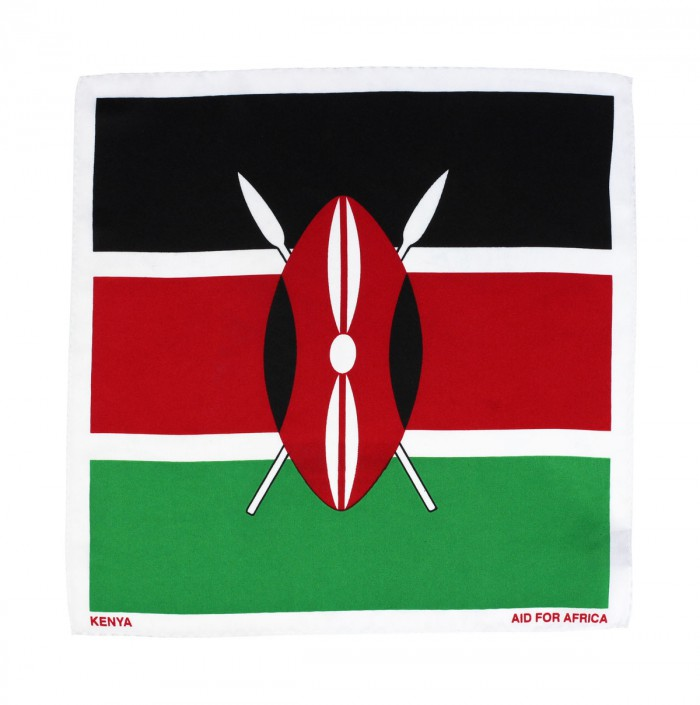 Kenya Pocket Square