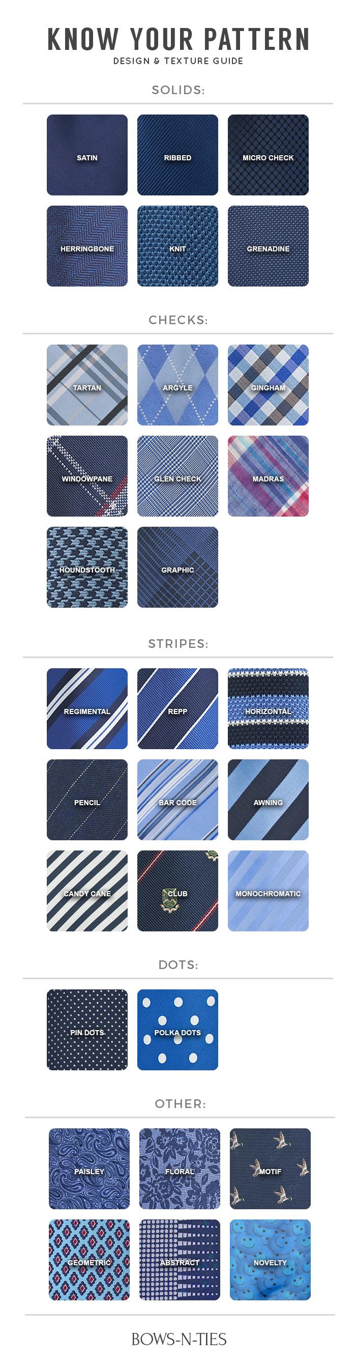 tie patterns 101 a complete guide to necktie patterns