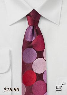 Red-Pink-Large-Polka-Dot-Necktie