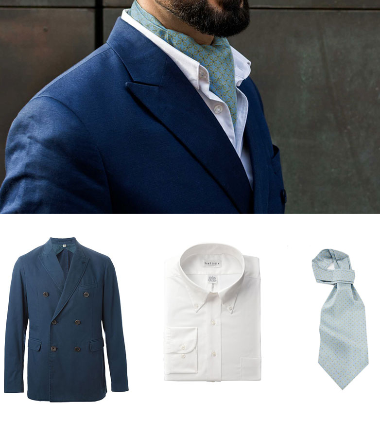 Get The Look - How To Wear An Ascot