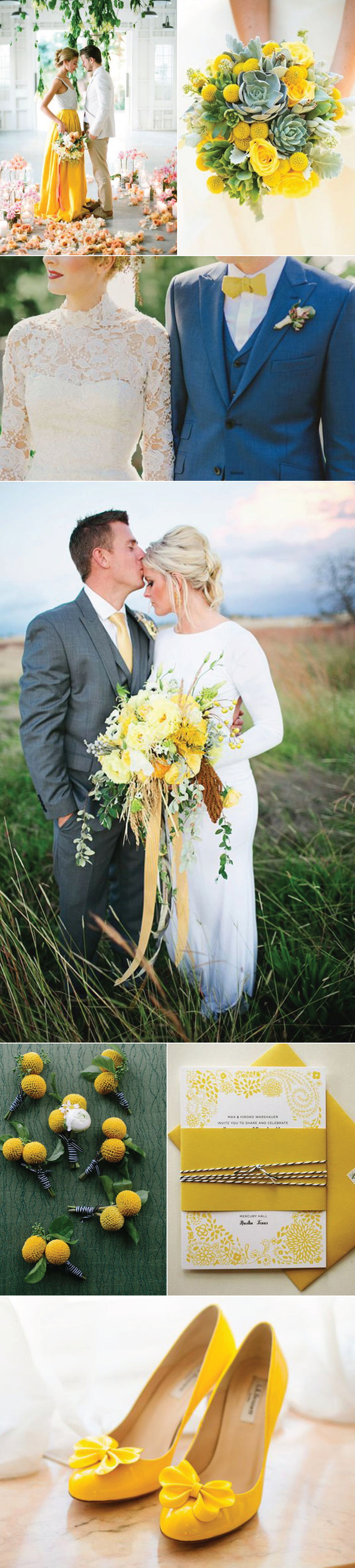 Wedding Color Ideas For Spring Yellow | Bows-N-Ties.com