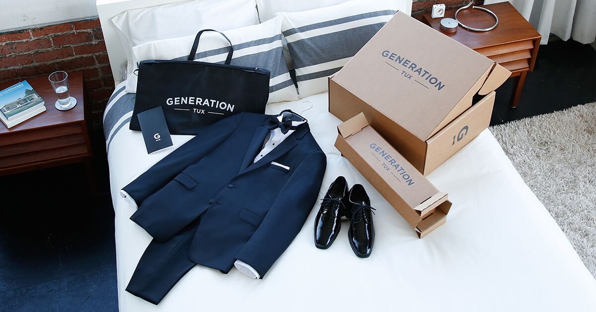 wedding giveaway generation tux