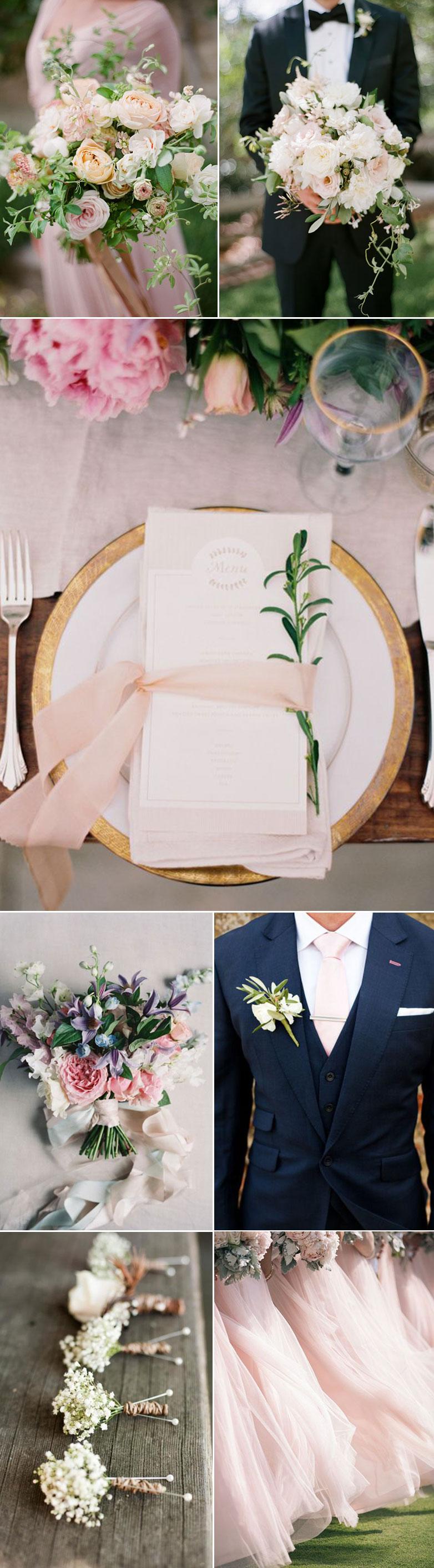 Ideas for Petal Pink Weddings
