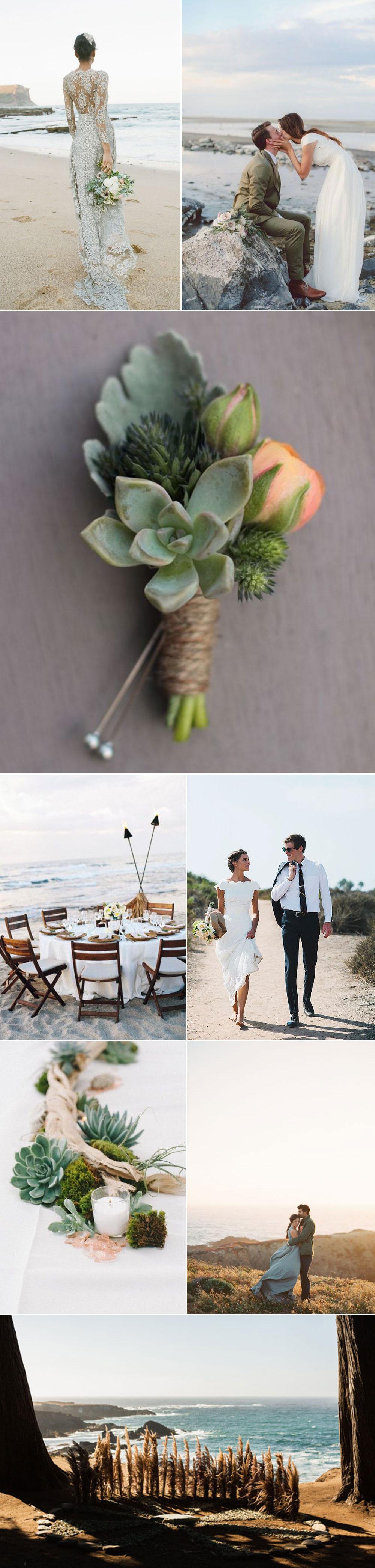 Inspiration for Coastal Wedding
