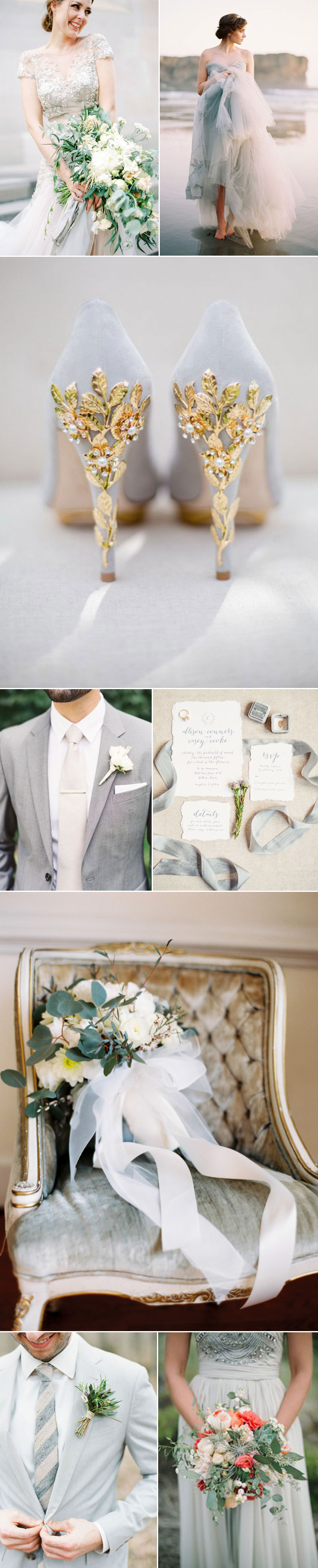 Wedding Inspiration For Dove Gray