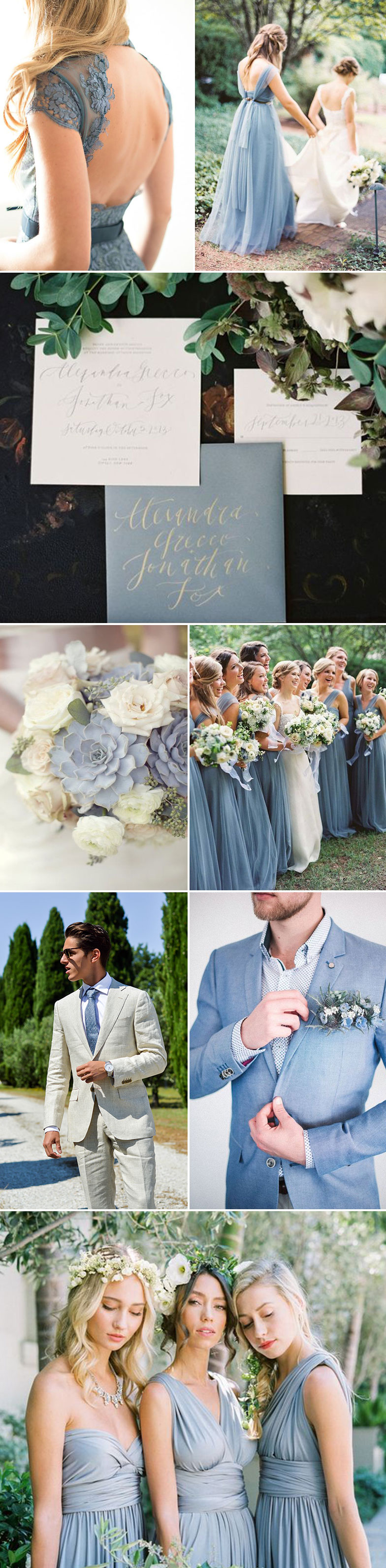 Wedding Ideas in Infinity Blue