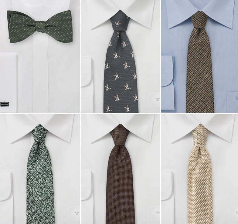 Wedding Ties For Outdoors