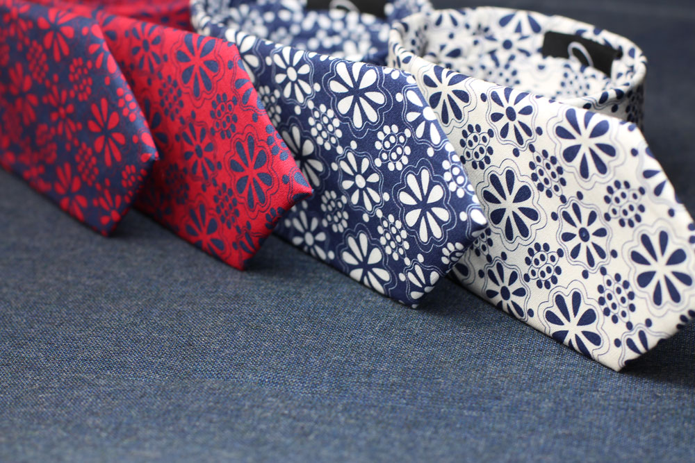 Cotton Print Summer Ties Hidalgo