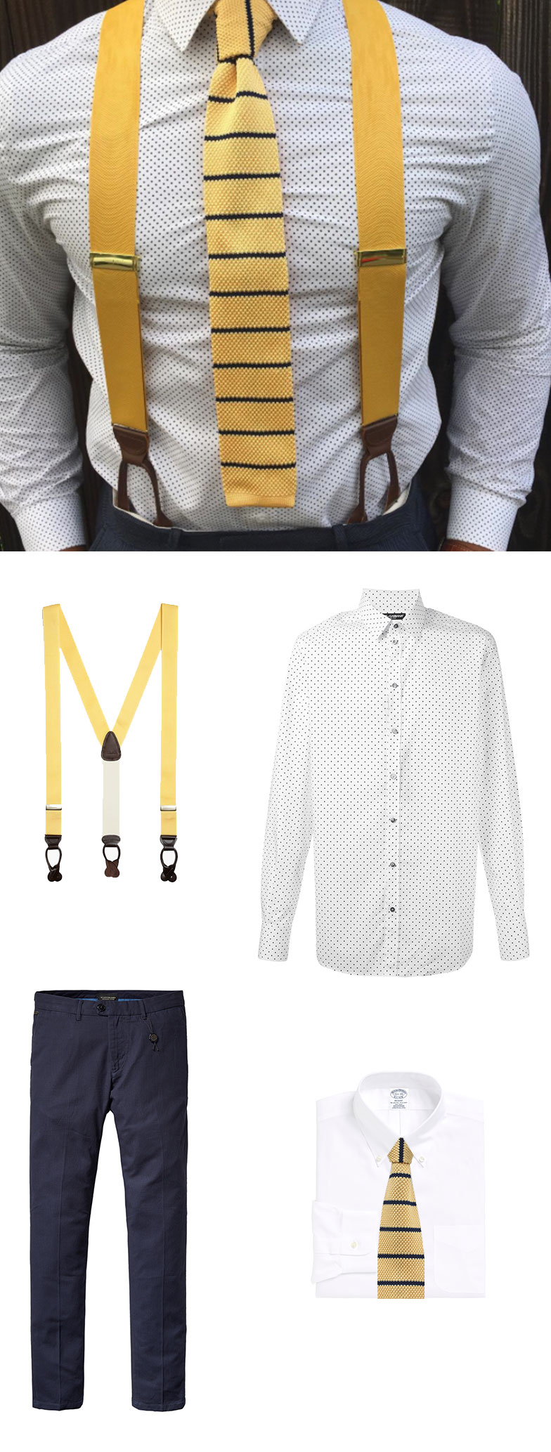 Yellow-Knit-Tie-and-Suspenders