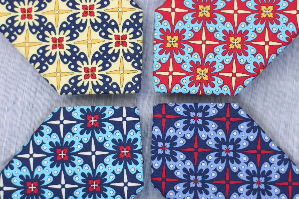 Mexican Tile Neckties Guadalupe