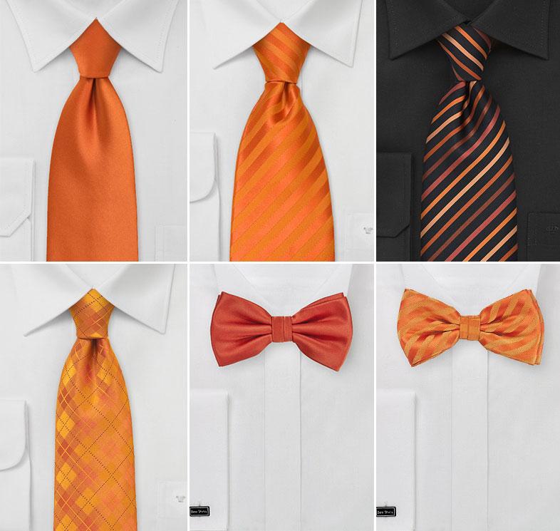 Halloween Wedding Ties