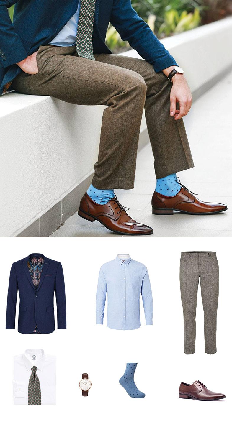 Autumn Blazer and Tie For Men
