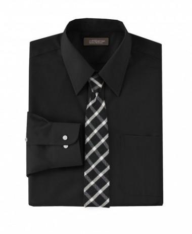 checkered skinny tie in black