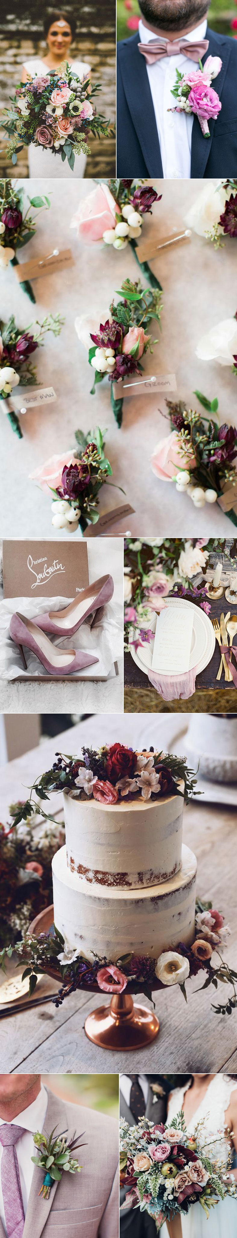 Wedding Ideas For Vintage Mauve