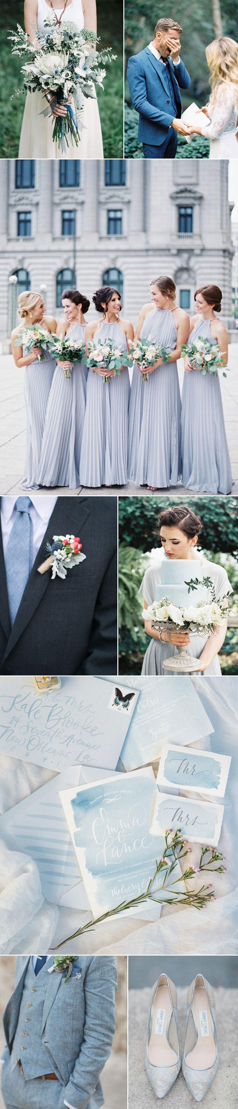 Beautiful Blue Wedding