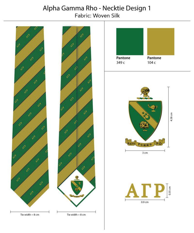 Striped Ties Alpha Gamma Rho