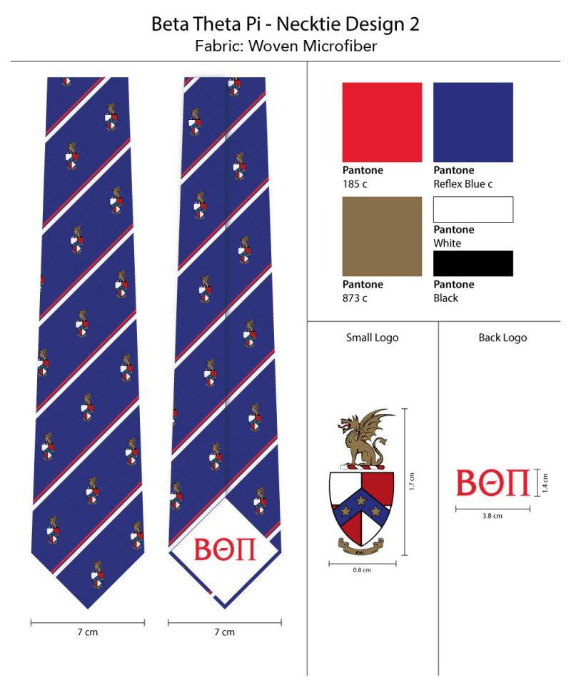 Skinny Neckties Beta Theta Pi