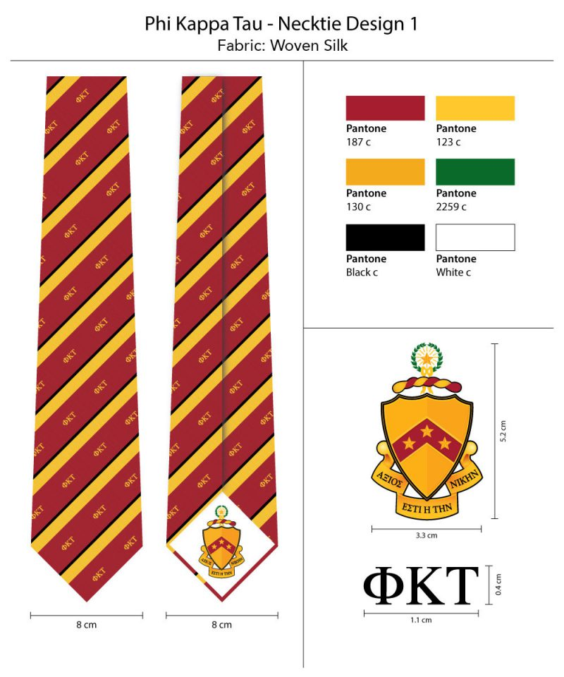 Ties for phi kappa tau bows n for Architecture kappa
