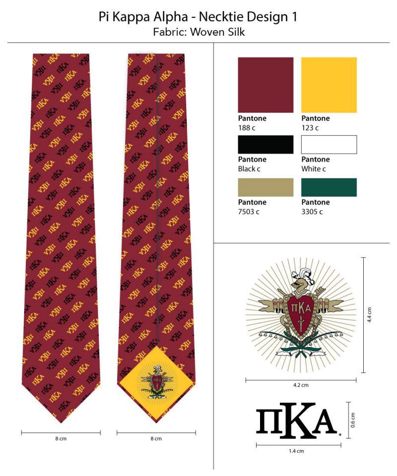 Ties For Pi Kappa Alpha
