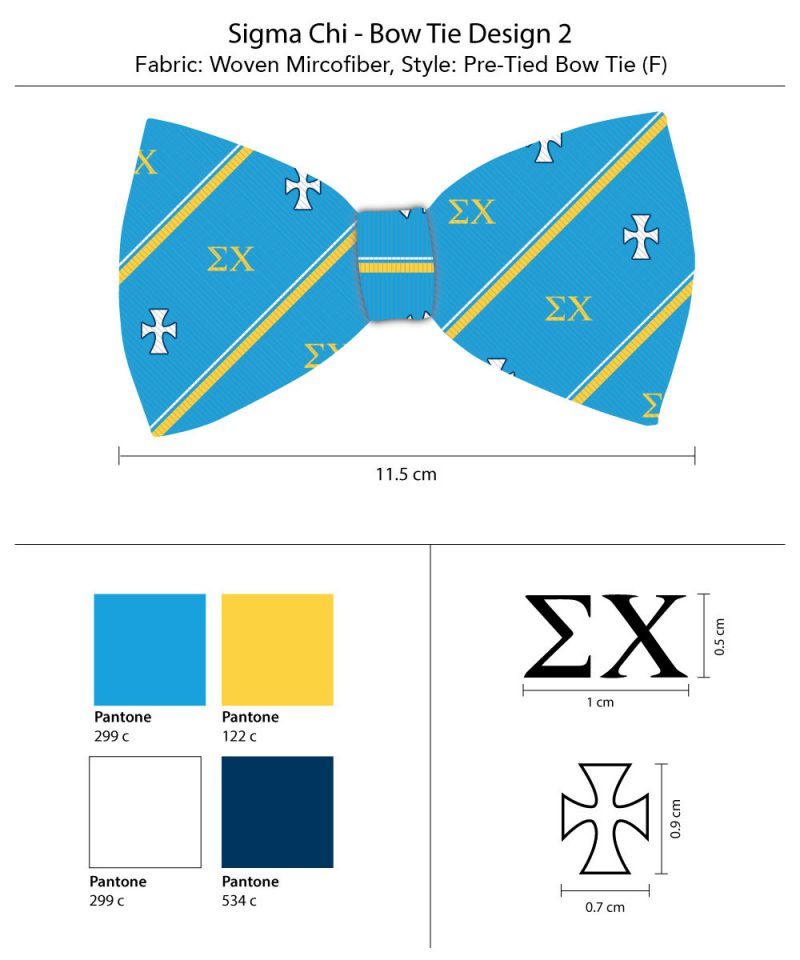 Bow Ties for Sigma Chi