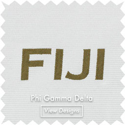 Fiji fraternity neckties bow ties
