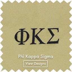 Phi Kapps Sigma neckties