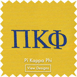 Pi Kappa Phi Frat Neckties bow ties