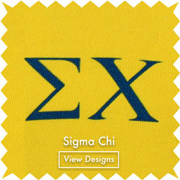 Sigma Chi Fraternity Neckties Bows