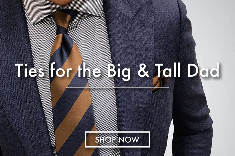 bog and tall extra long neck ties