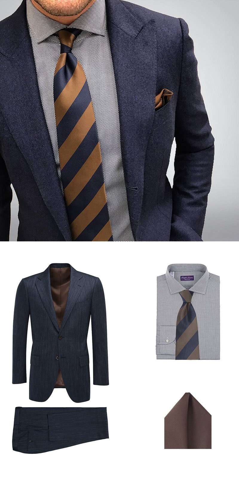 Look Of The Week - Classic Striped Tie