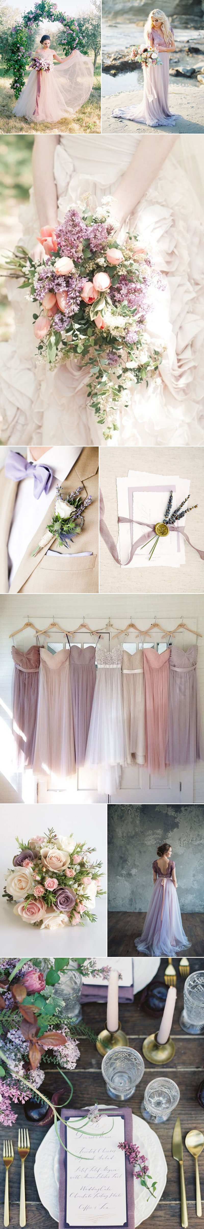Perfect Pastel Purple Weddings
