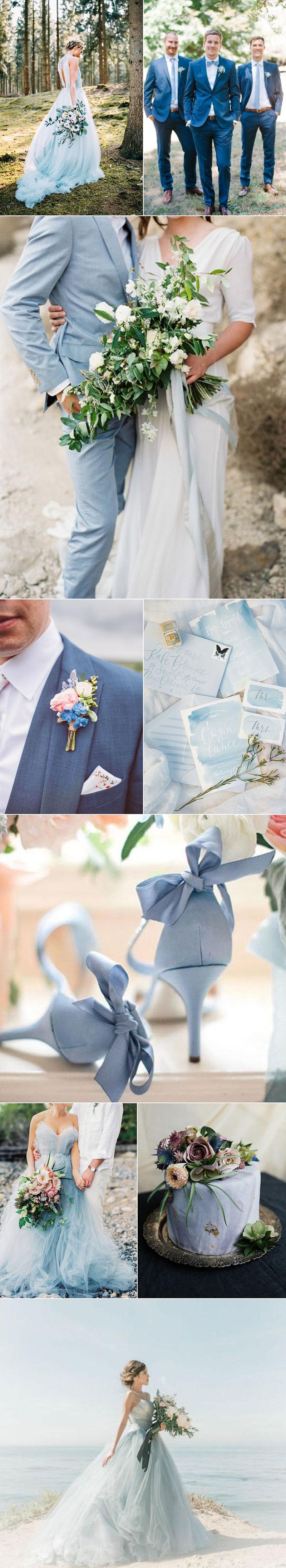 Pastel Blue Wedding Ideas