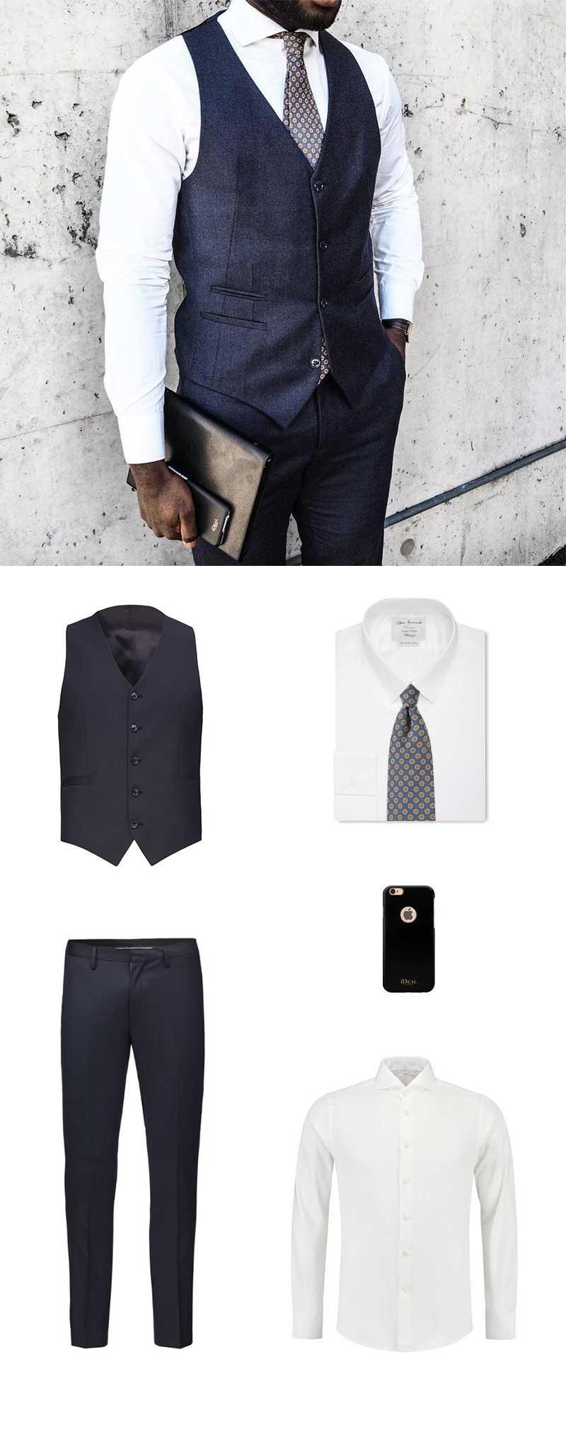 Vintage Tie and Vest