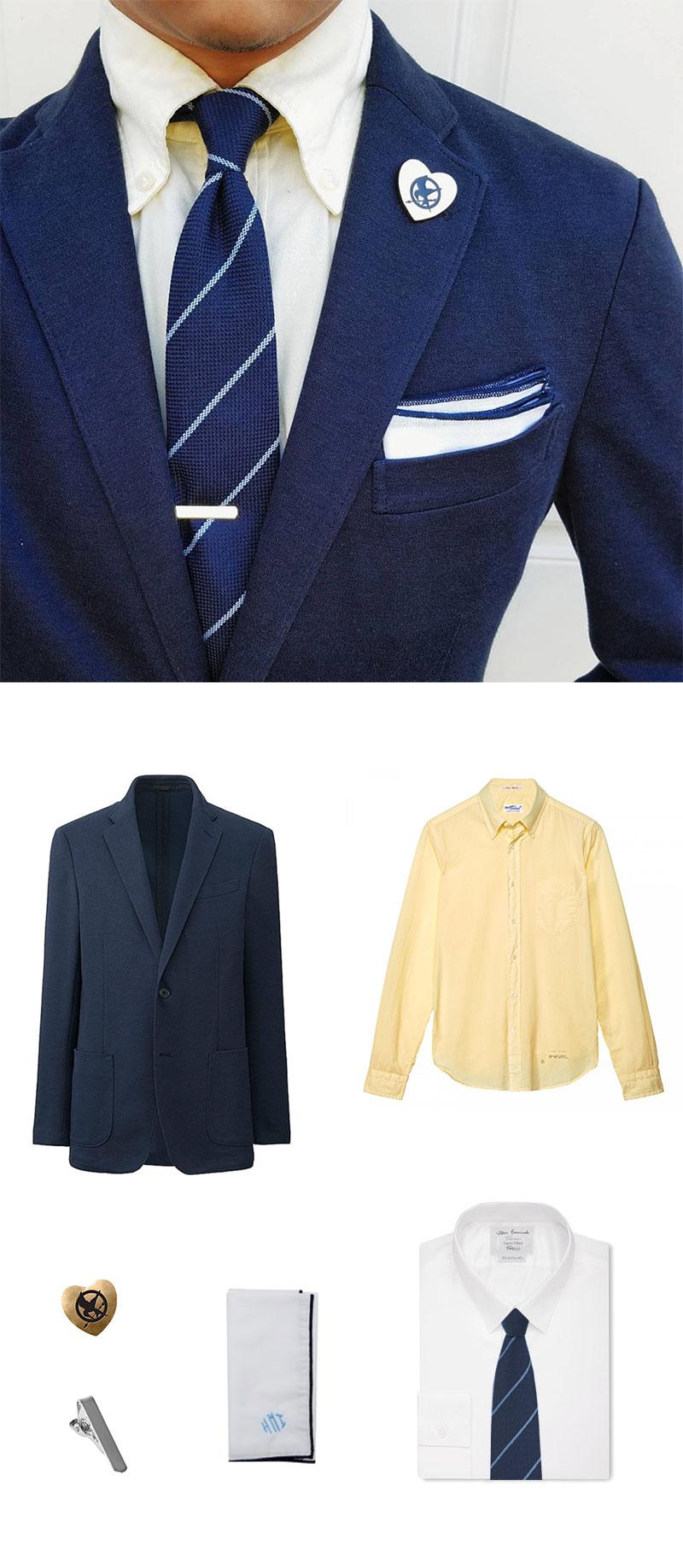 Fresh Skinny Tie and Blazer