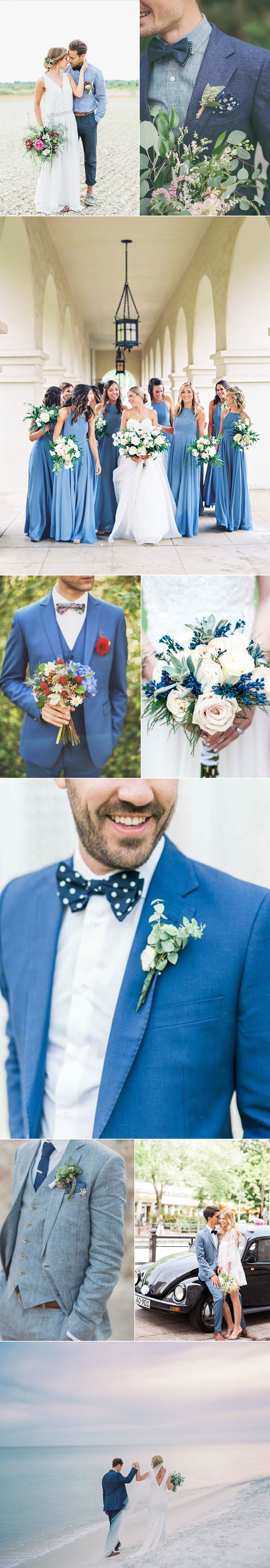 Summer Blue Weddings