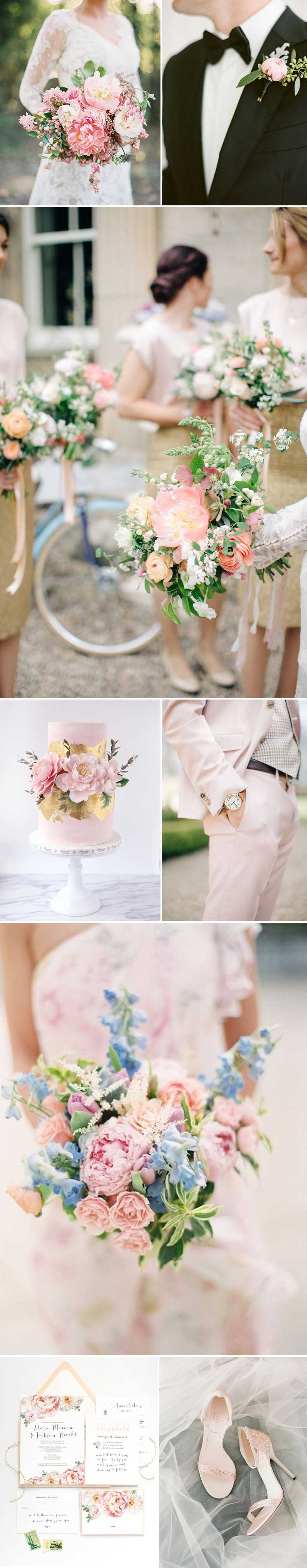 Wedding Inspiration in Peony Pink
