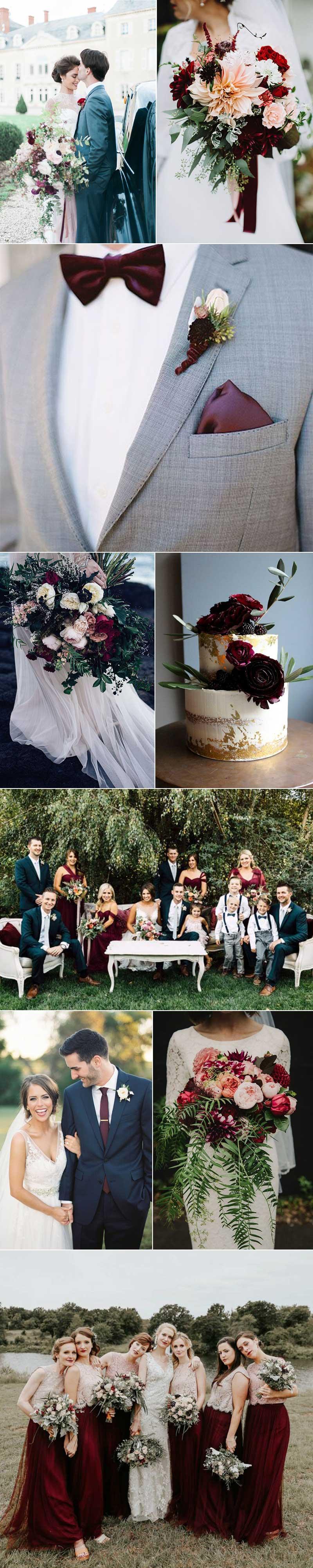 Rich Plum Wedding Ideas