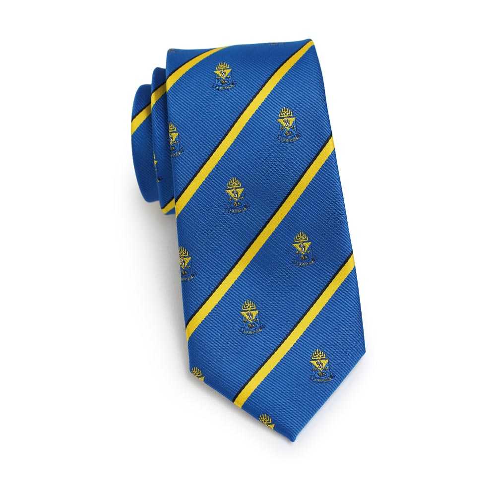 Alpha Epsilon Pi Men's Skinny Necktie