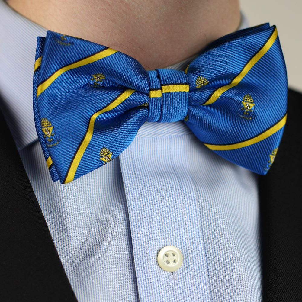 Alpha Epsilon Pi Men's Bow Tie Pre-Tied Styled