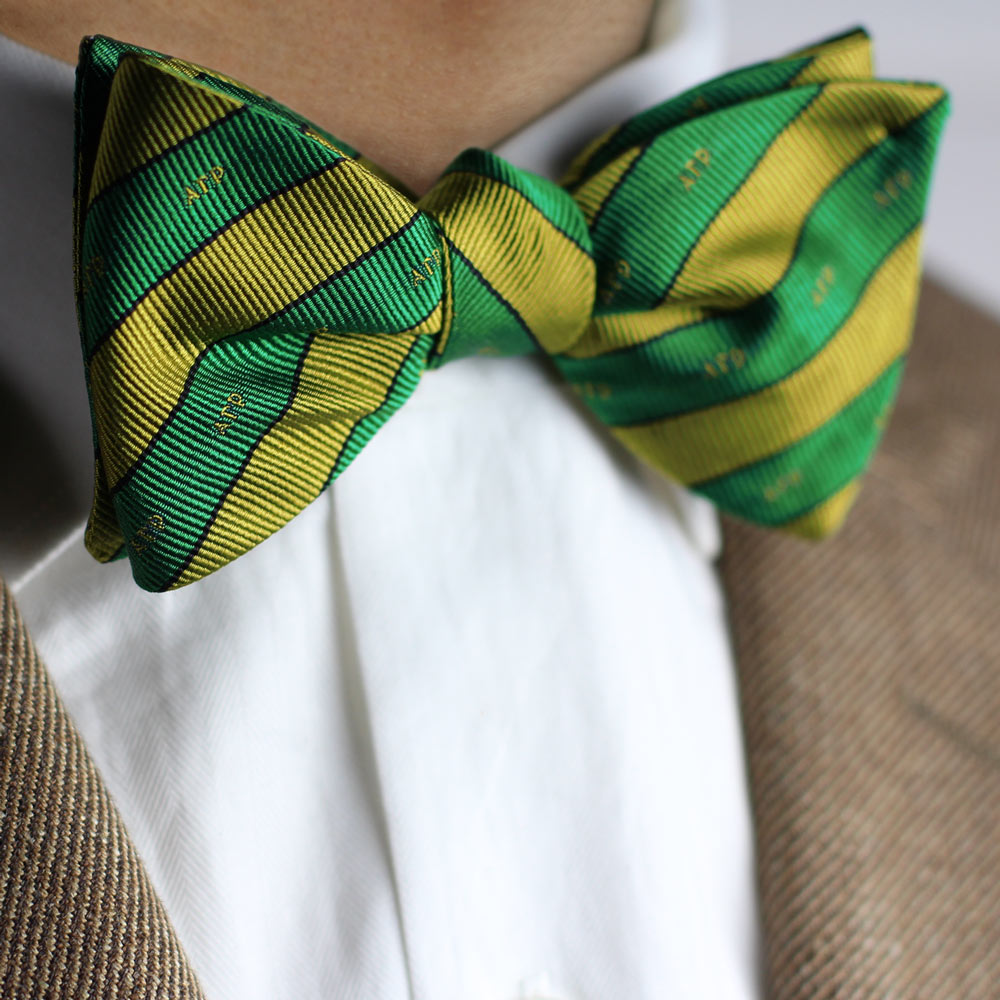 Alpha Gamma Rho Men's Bow Tie Styled