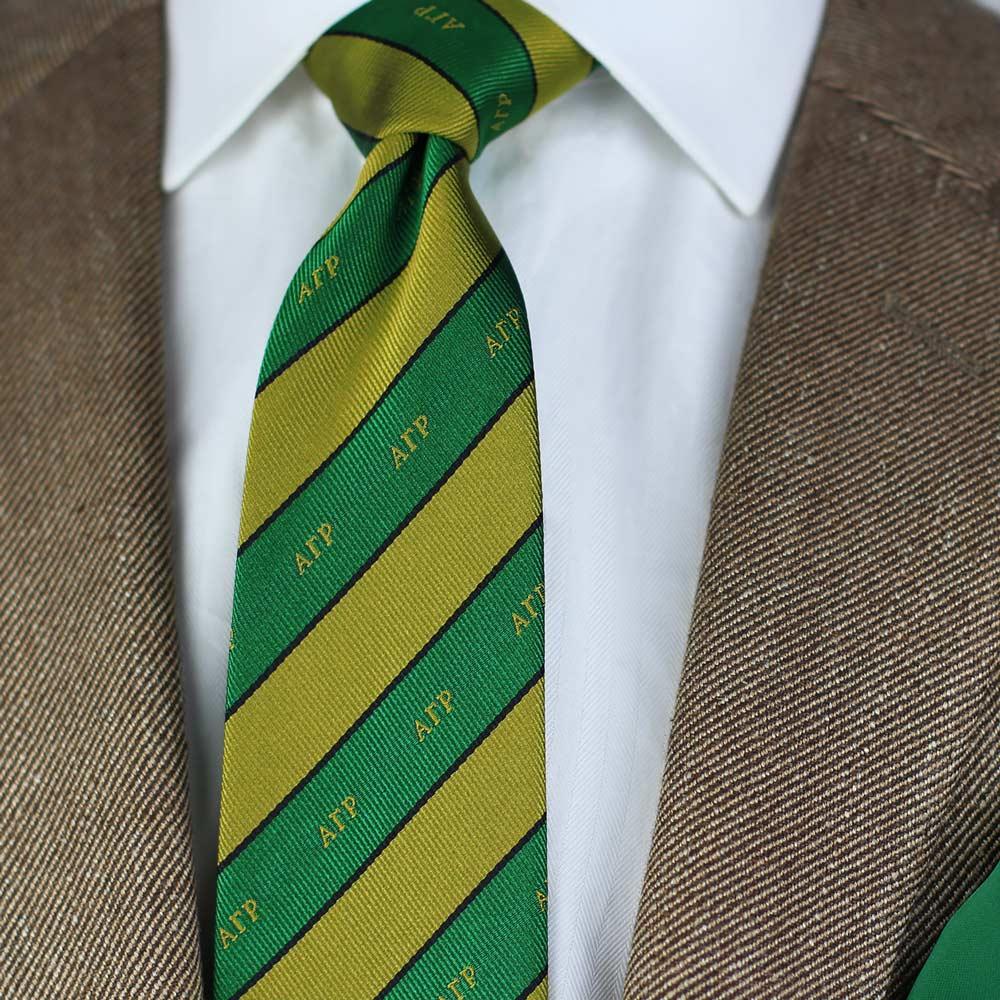 Alpha Gamma Rho Men's Necktie Styled
