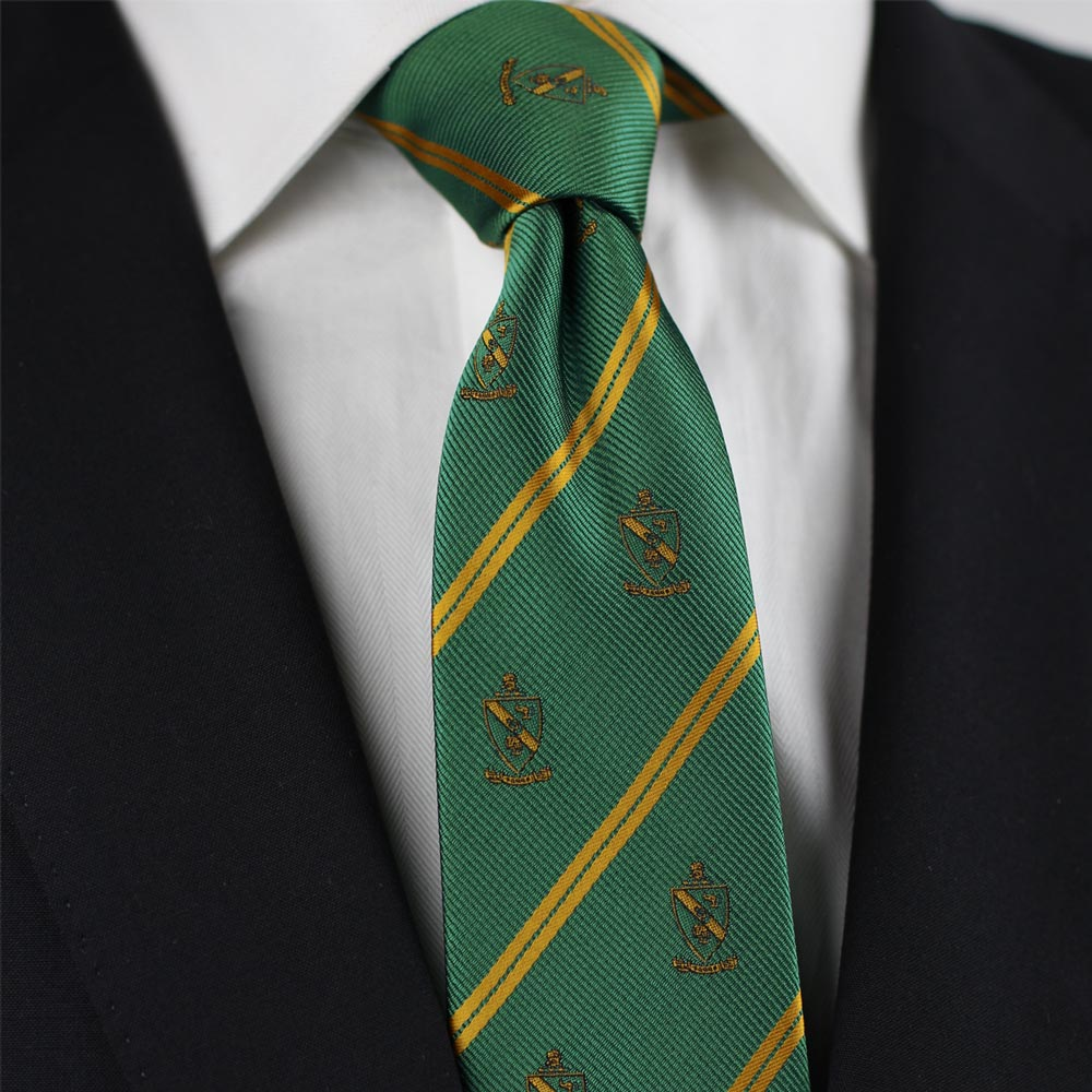 Alpha Gamma Rho Men's Skinny Necktie Styled