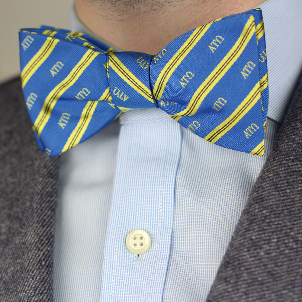 Alpha Tau Omega Men's Bow Tie Men's Bow Tie Styled