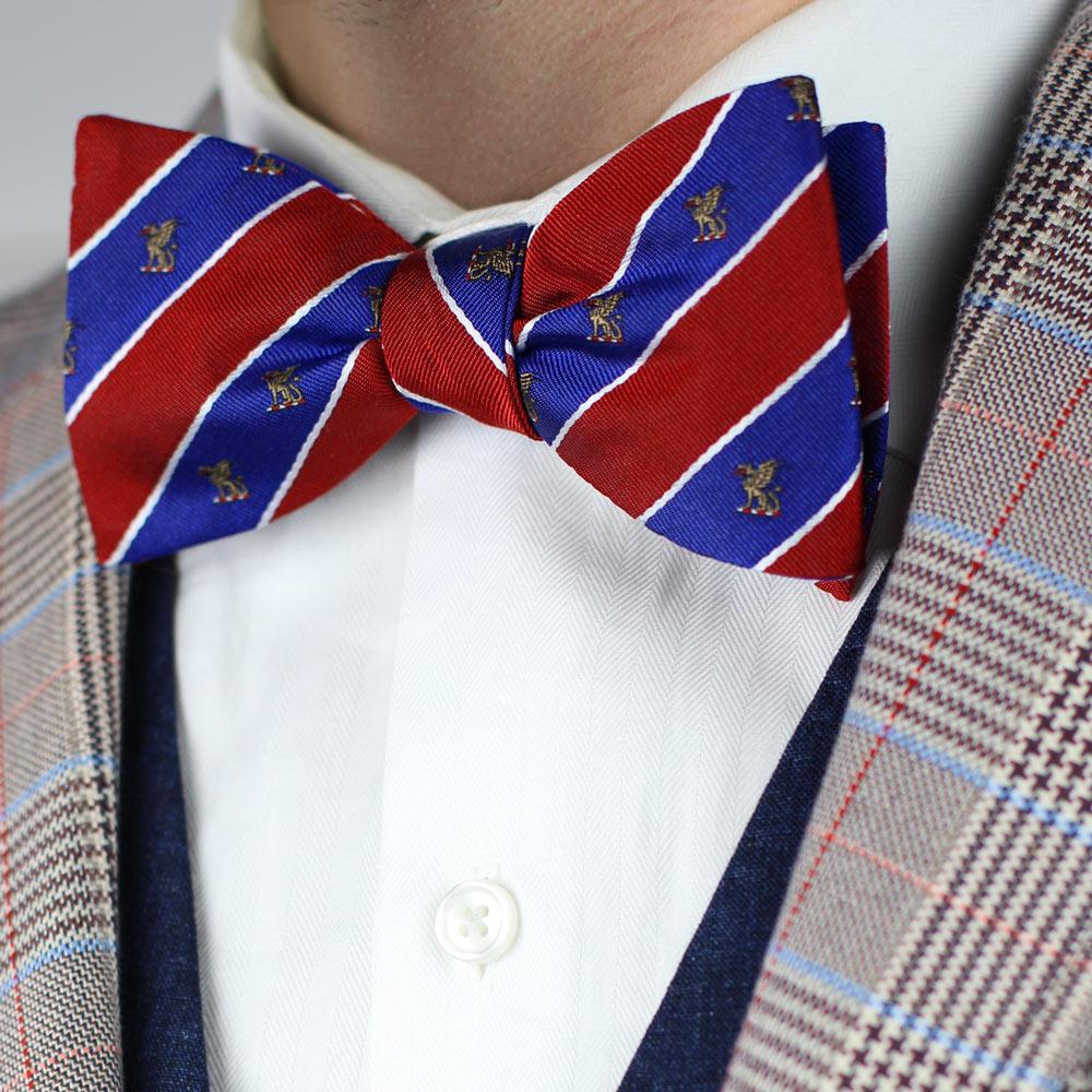 Beta Theta Pi Men's Bow Tie Styled