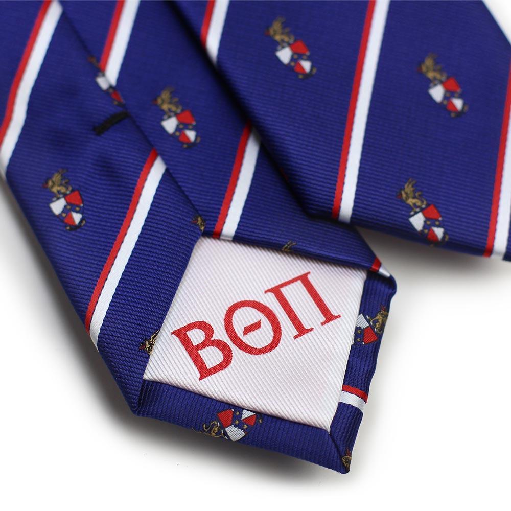Beta Theta Pi Men's Skinny Necktie Back