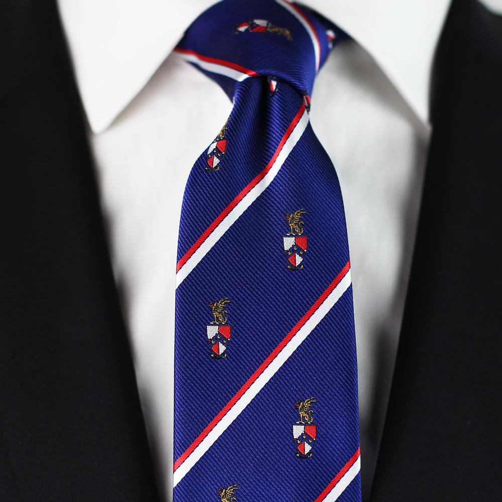Beta Theta Pi Men's Skinny Necktie Styled