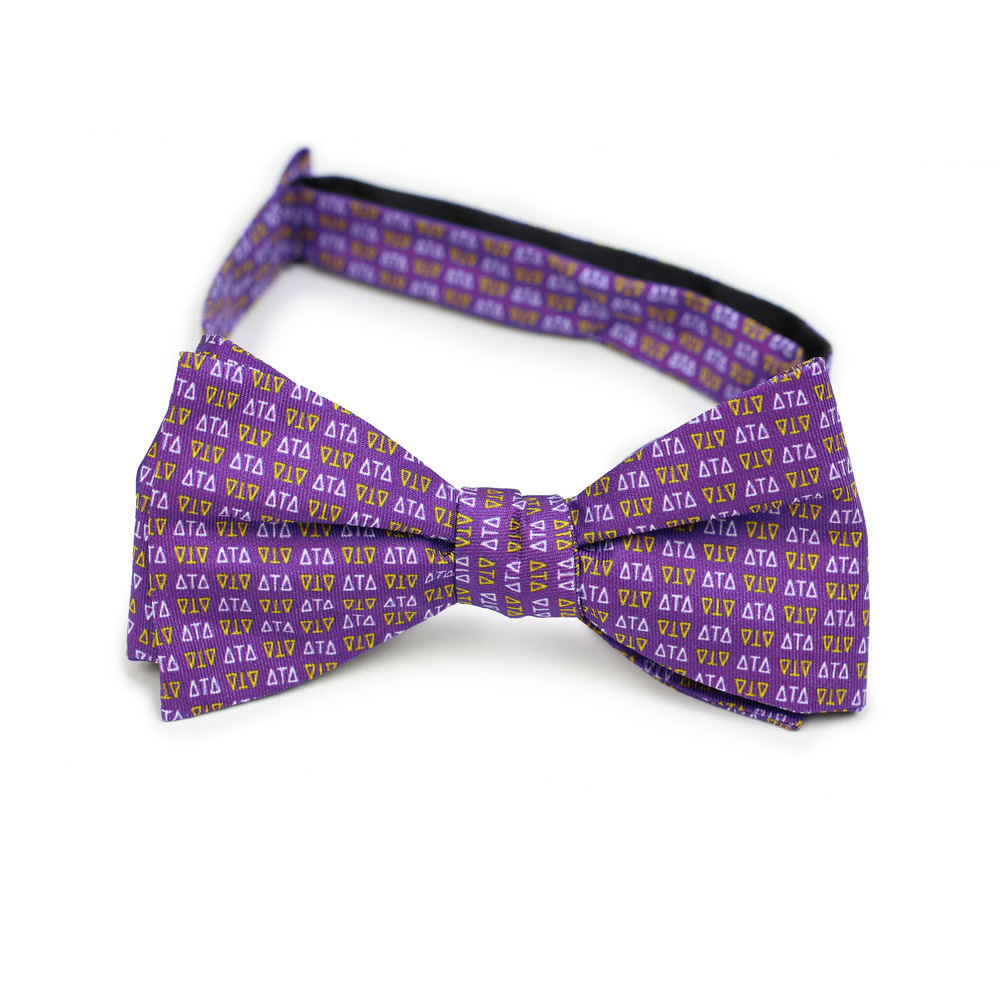 Delta Tau Delta Men's Bow Tie